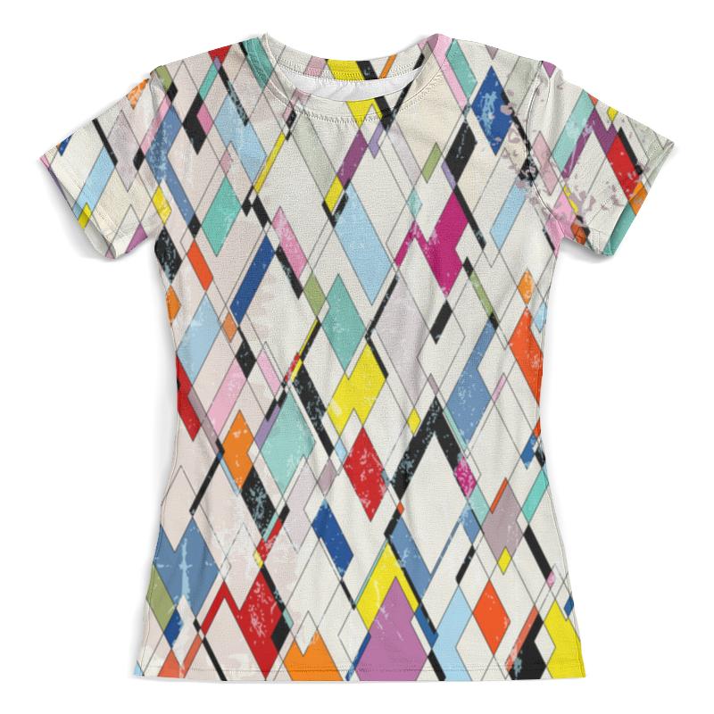 Printio Футболка с полной запечаткой (женская) Abstract geometric design printio футболка с полной запечаткой женская abstract mirror