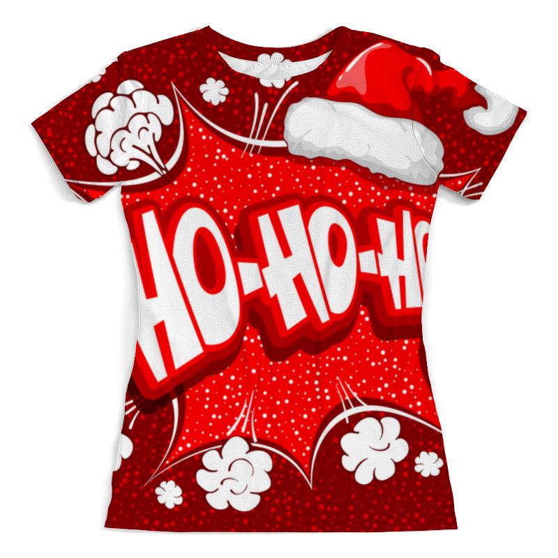 printio футболка с полной запечаткой для девочек ho ho ho Printio Футболка с полной запечаткой (женская) ho ho ho