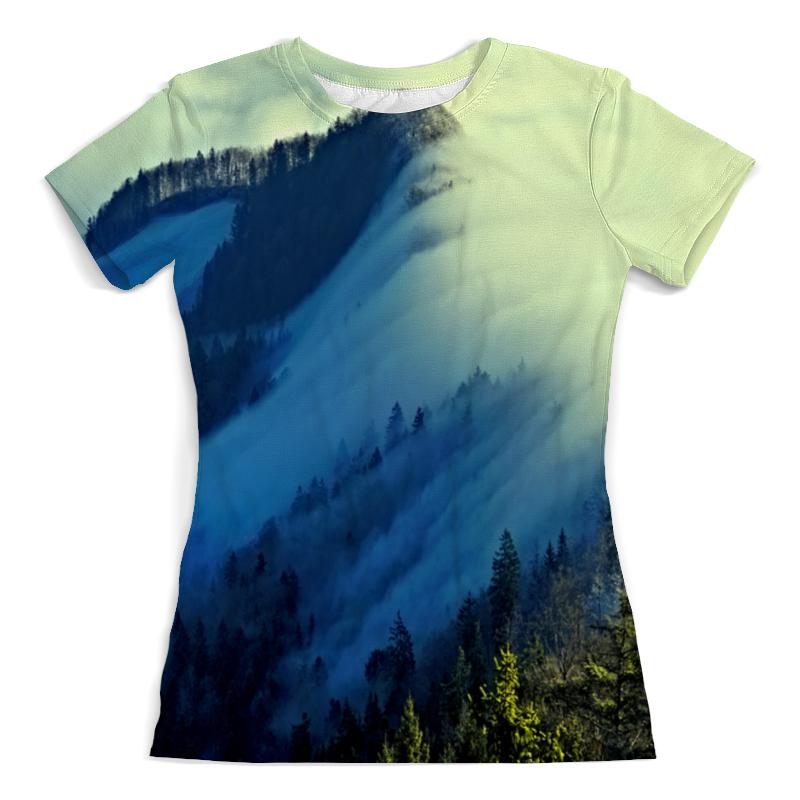 Фото - Printio Футболка с полной запечаткой (женская) Живописный пейзаж printio футболка с полной запечаткой мужская живописный пейзаж