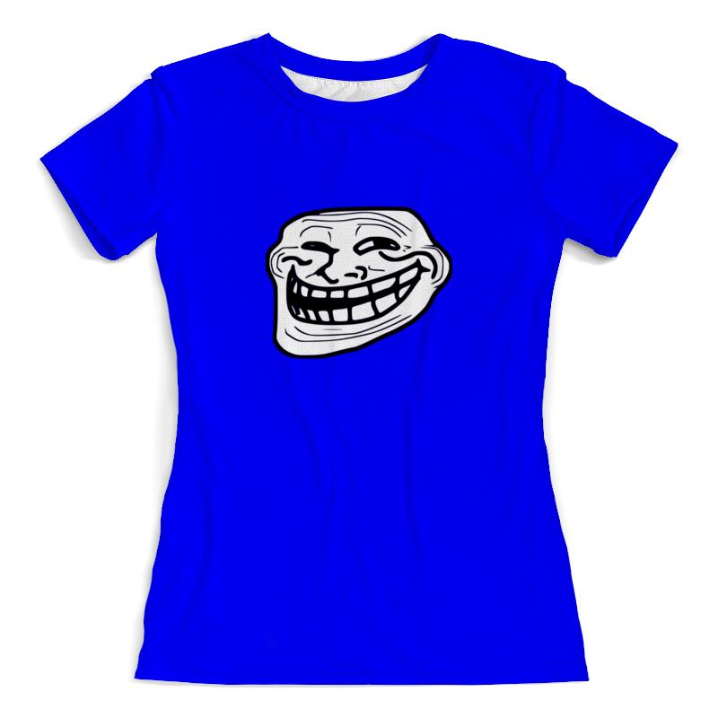 Printio Футболка с полной запечаткой (женская) Mem смех printio футболка wearcraft premium mem смех