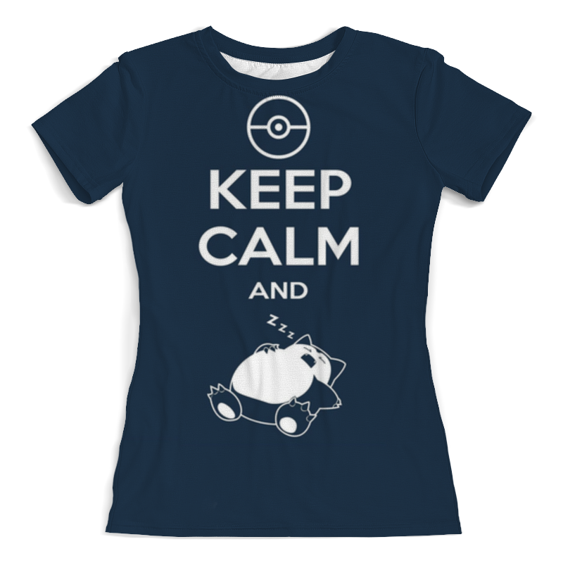 Фото - Printio Футболка с полной запечаткой (женская) Keep calm and zzz funny printio футболка с полной запечаткой женская keep calm and zzz funny