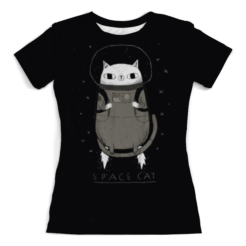 Printio Футболка с полной запечаткой (женская) Space cat женская футболка 2015 cat 3d t 1983