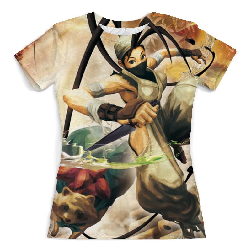 Фото - Printio Футболка с полной запечаткой (женская) Ibuki and raccoon street fighter printio футболка с полной запечаткой женская master and margarita