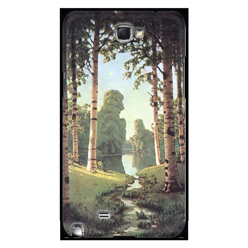 Фото - Printio Чехол для Samsung Galaxy Note 2 Берёзовая роща (картина архипа куинджи) printio тетрадь на скрепке берёзовая роща картина архипа куинджи