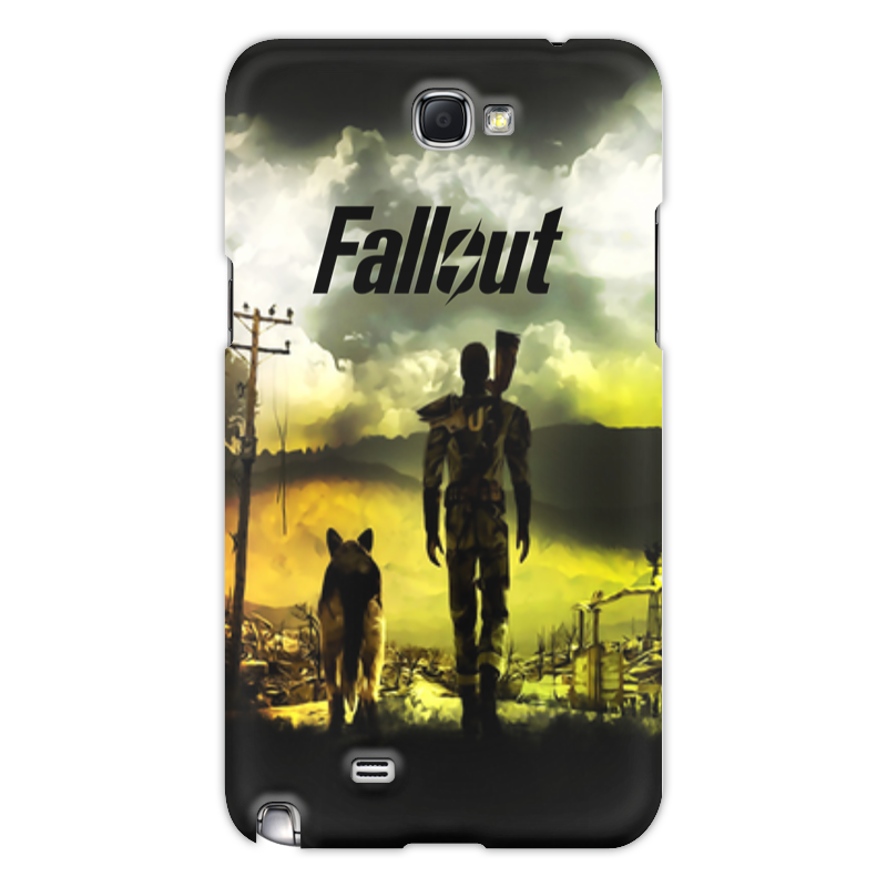 Printio Чехол для Samsung Galaxy Note 2 Fallout чехол