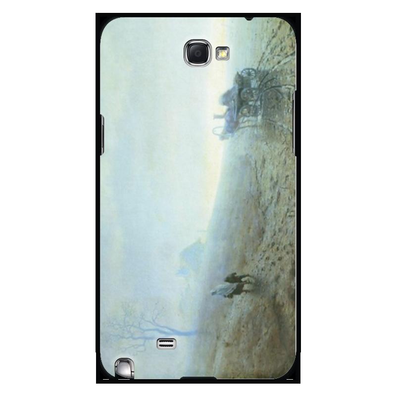 Printio Чехол для Samsung Galaxy Note 2 Осенняя распутица (картина архипа куинджи)