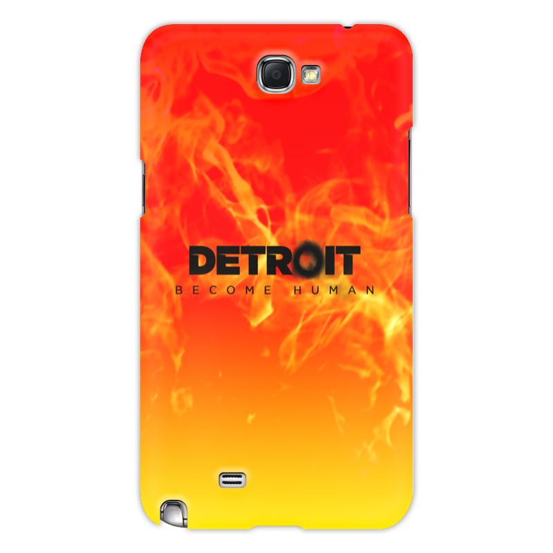 Printio Чехол для Samsung Galaxy Note 2 Detroit become human чехол