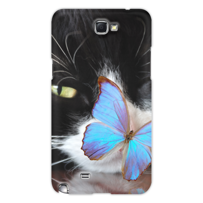 Printio Чехол для Samsung Galaxy Note 2 Кошка чехол