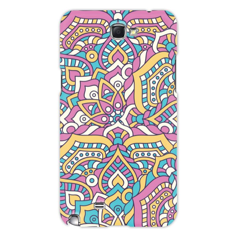 Printio Чехол для Samsung Galaxy Note 2 Роспись чехол