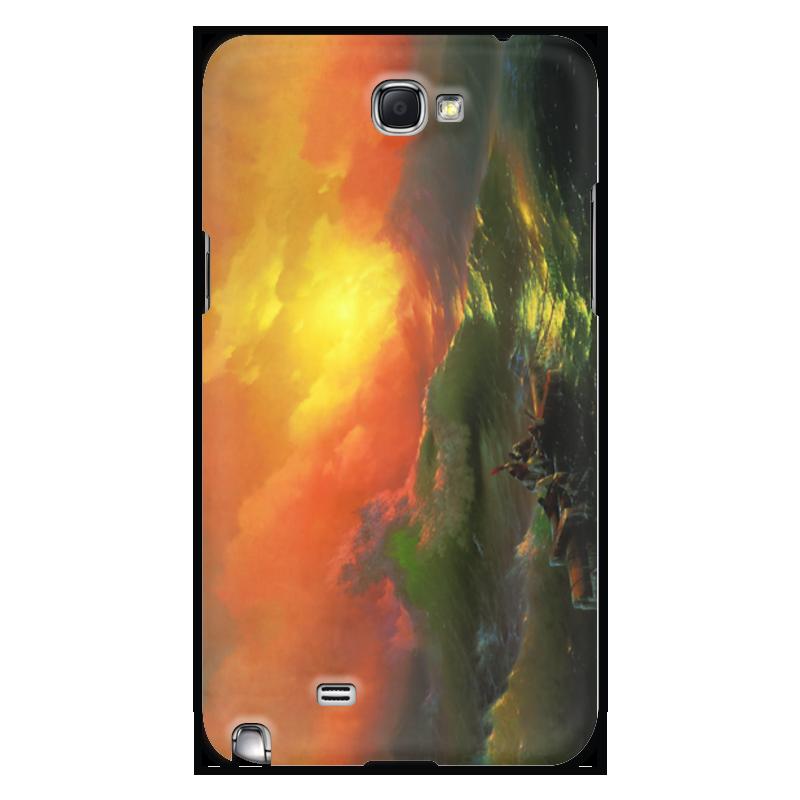 Printio Чехол для Samsung Galaxy Note 2 Девятый вал (картина айвазовского)