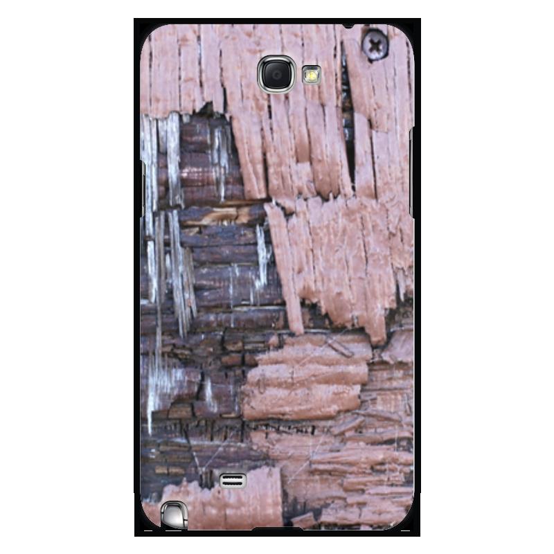 Printio Чехол для Samsung Galaxy Note 2 Деревянный
