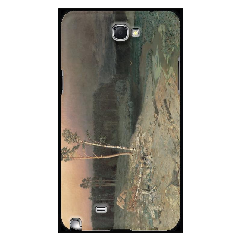 Фото - Printio Чехол для Samsung Galaxy Note 2 На острове валааме (картина архипа куинджи) printio тетрадь на скрепке берёзовая роща картина архипа куинджи