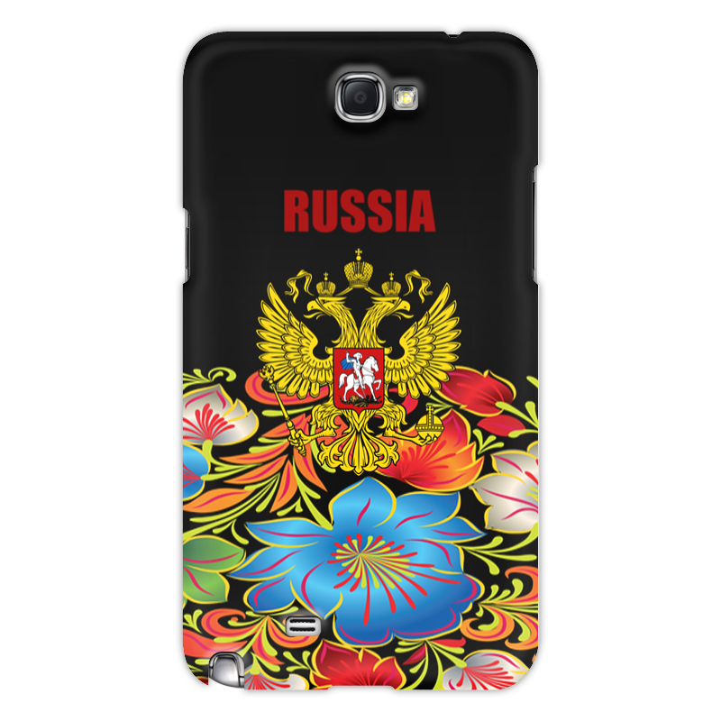 Printio Чехол для Samsung Galaxy Note 2 Герб россии чехол