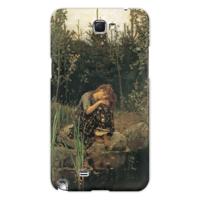 Printio Чехол для Samsung Galaxy Note 2 Алёнушка (картина васнецова)