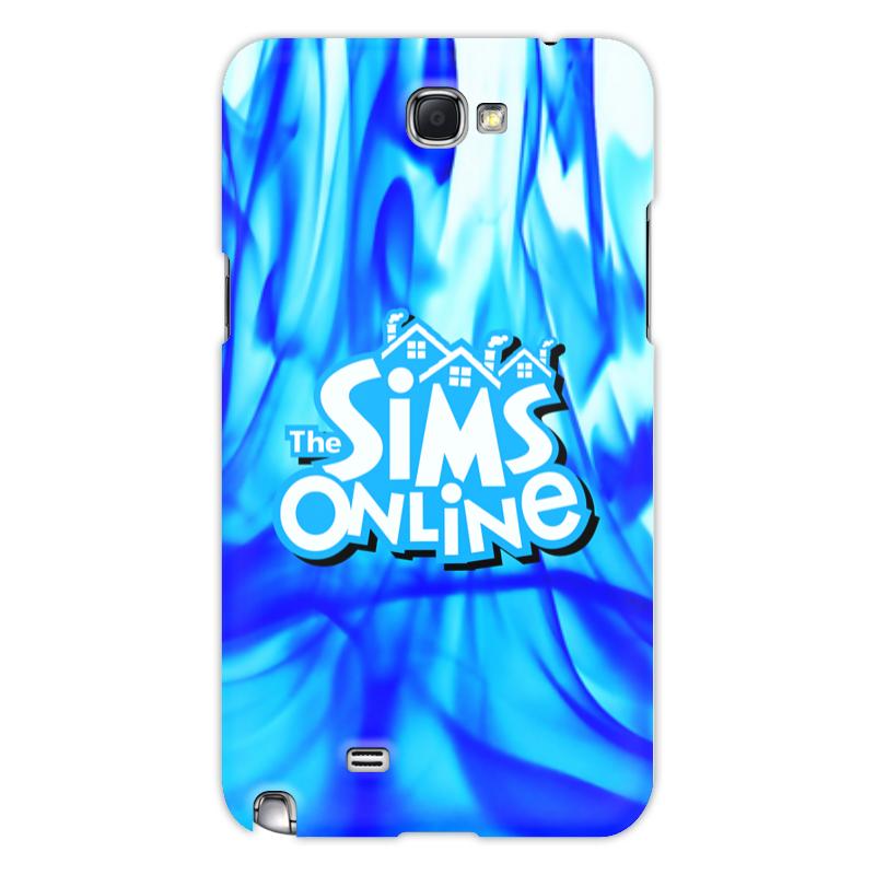 Printio Чехол для Samsung Galaxy Note 2 Sims online