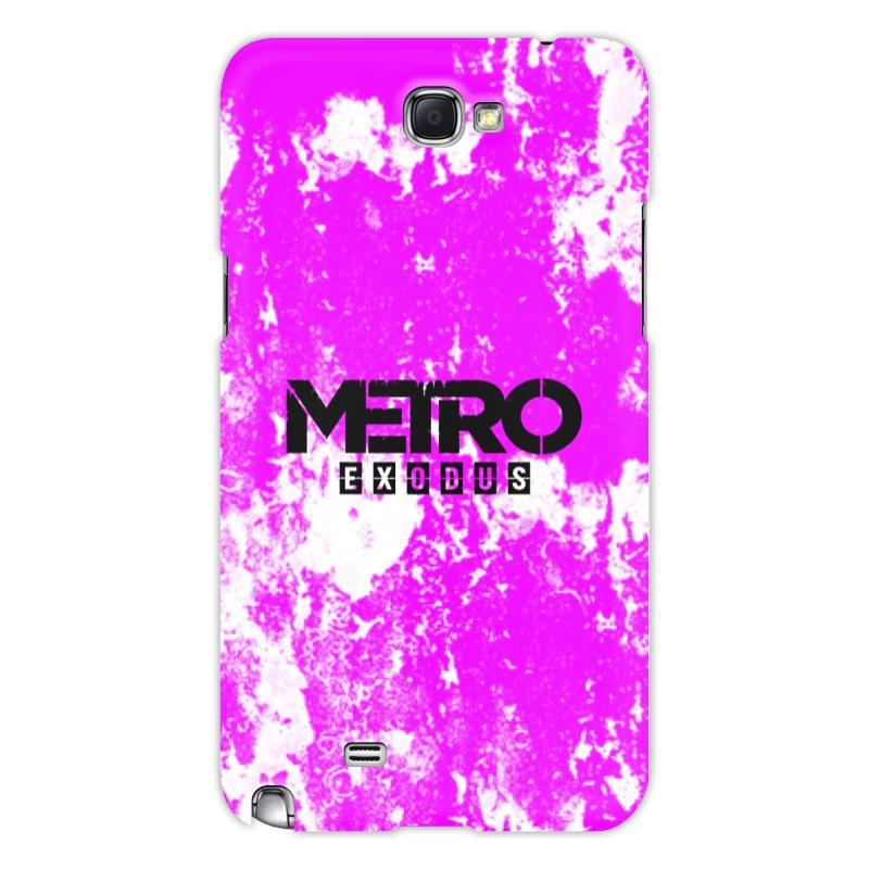 Printio Чехол для Samsung Galaxy Note 2 Metro чехол