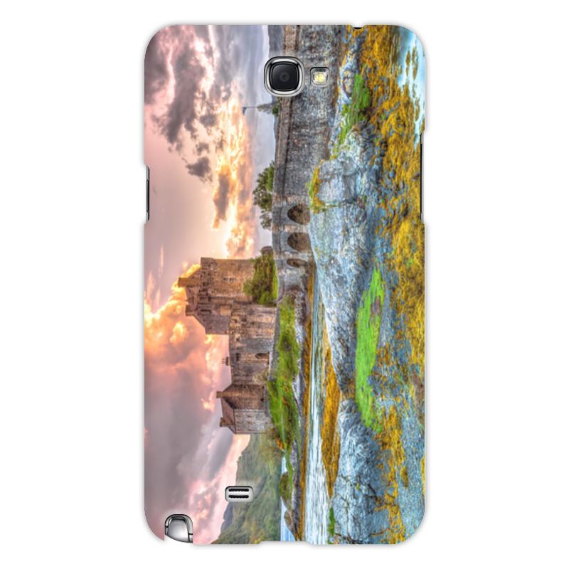 Фото - Printio Чехол для Samsung Galaxy Note 2 Замок в шотландии набор полесье замок башня замок стена с двумя башнями замок мост 37251