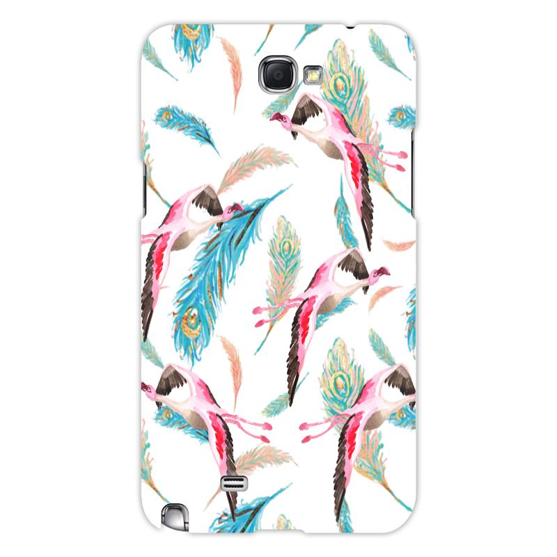 Printio Чехол для Samsung Galaxy Note 2 Птички