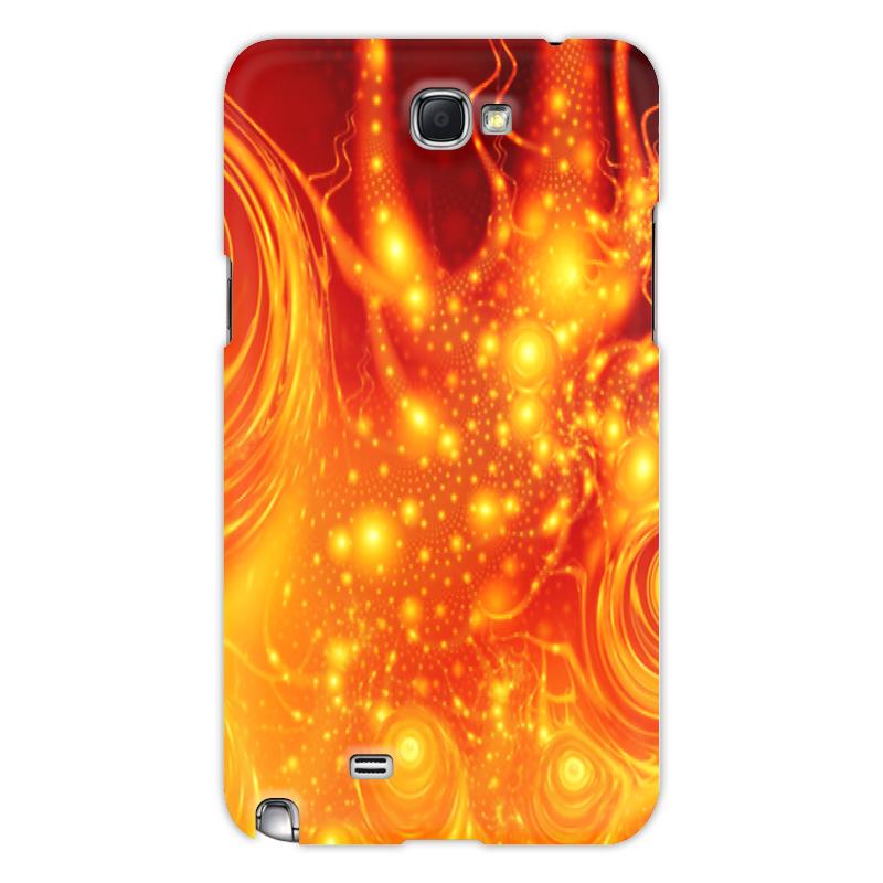 Printio Чехол для Samsung Galaxy Note 2 Узор красок чехол