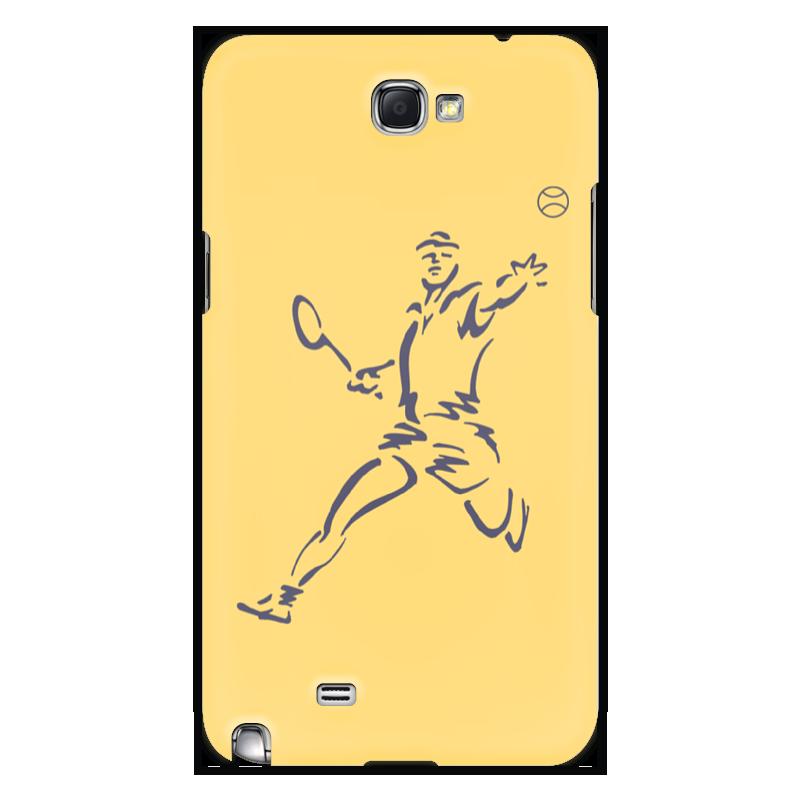 Printio Чехол для Samsung Galaxy Note 2 Большой теннис