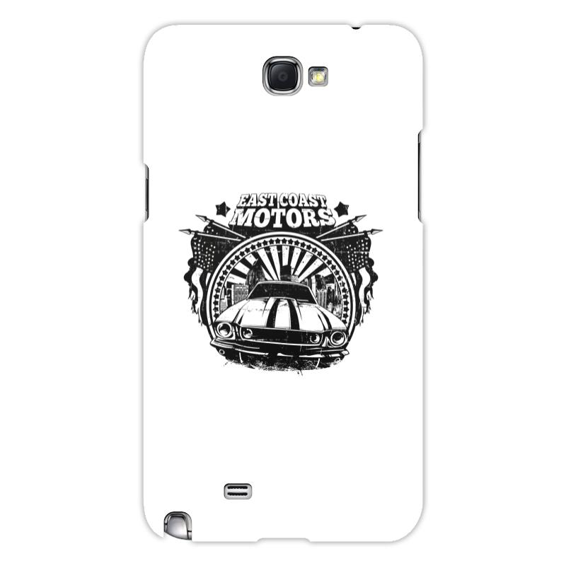 Printio Чехол для Samsung Galaxy Note 2 East coast motors printio чехол для iphone 6 объёмная печать east coast motors