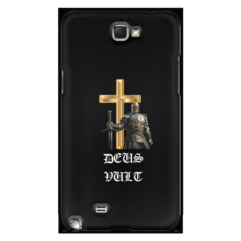 Фото - Printio Чехол для Samsung Galaxy Note 2 Deus vult. крестоносцы printio чехол для samsung galaxy s8 объёмная печать deus vult крестоносцы