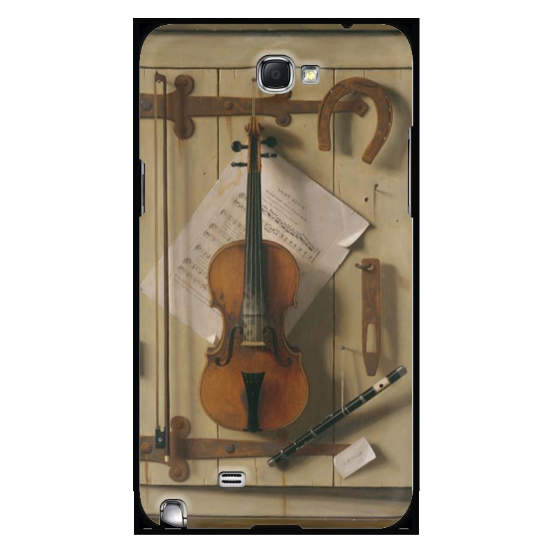 Printio Чехол для Samsung Galaxy Note 2 Натюрморт со скрипкой (уильям харнетт)