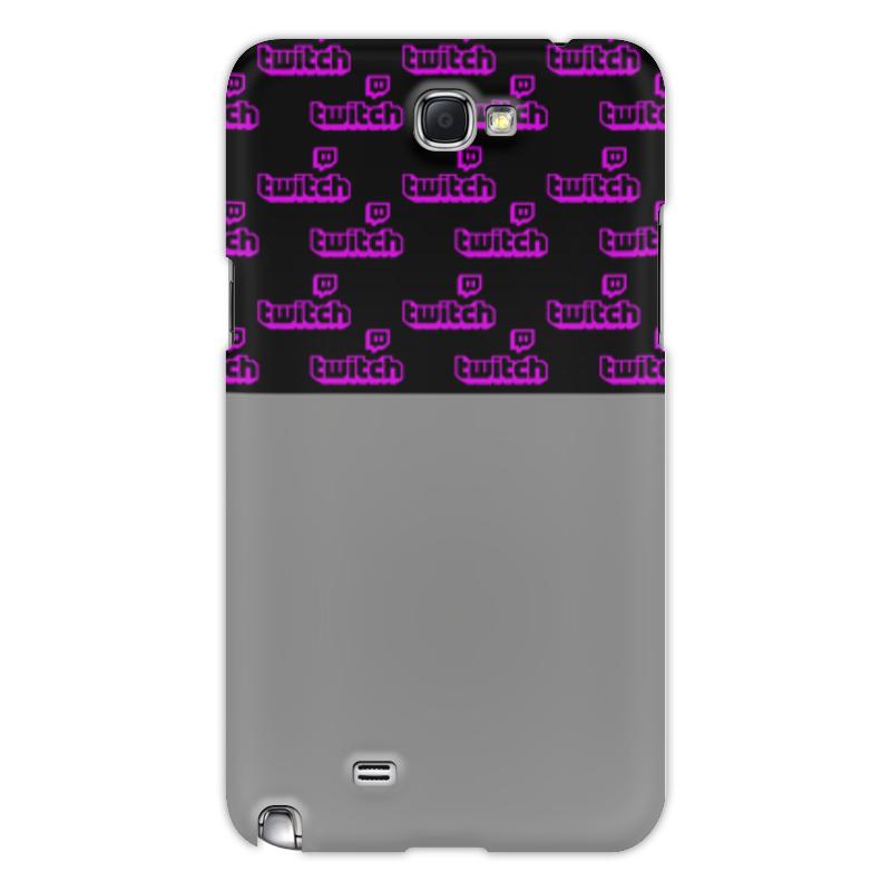 Printio Чехол для Samsung Galaxy Note 2 Twitch чехол