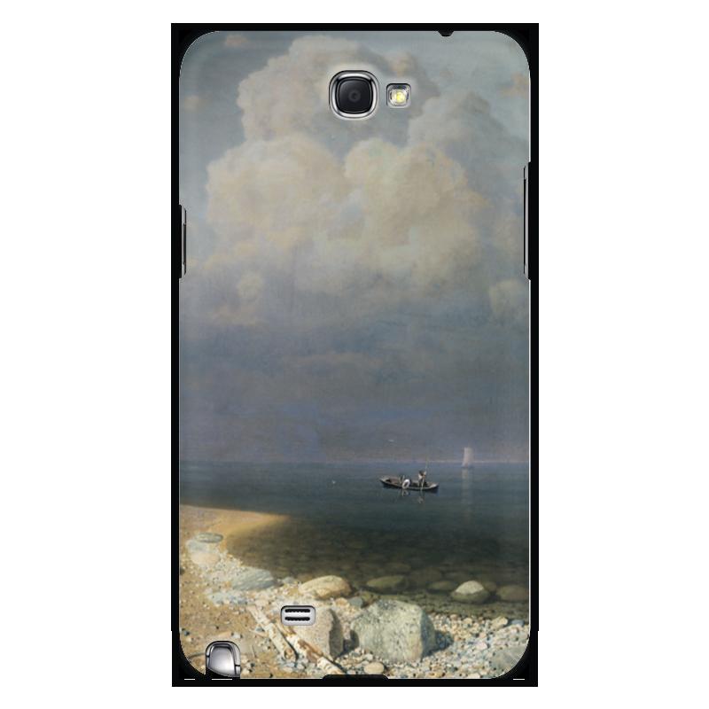 Фото - Printio Чехол для Samsung Galaxy Note 2 Ладожское озеро (картина архипа куинджи) printio тетрадь на скрепке берёзовая роща картина архипа куинджи