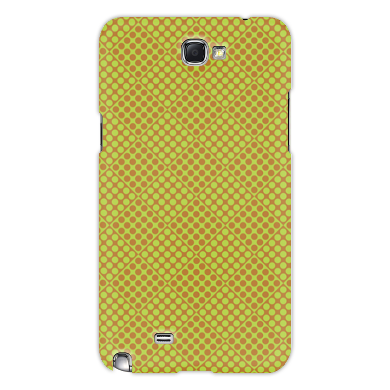 Printio Чехол для Samsung Galaxy Note 2 Горох в квадрате