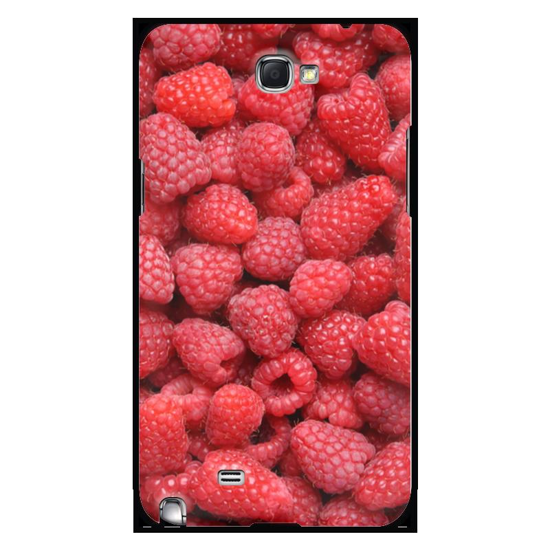 Printio Чехол для Samsung Galaxy Note 2 Малина чехол