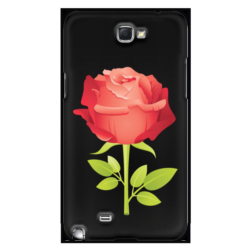 Printio Чехол для Samsung Galaxy Note 2 Розочка чехол