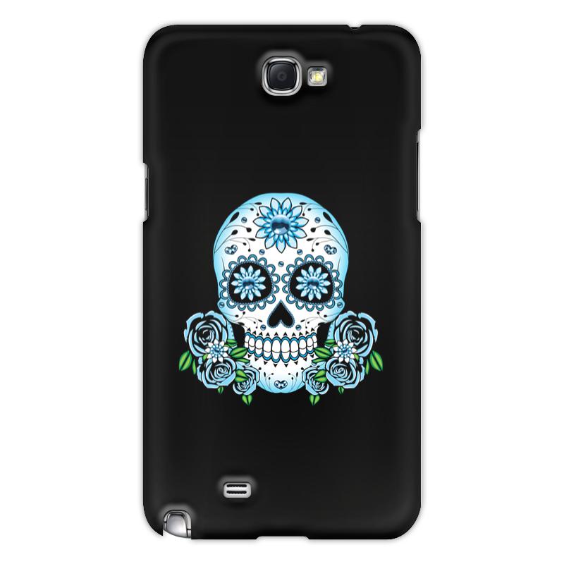 Printio Чехол для Samsung Galaxy Note 2 Череп чехол