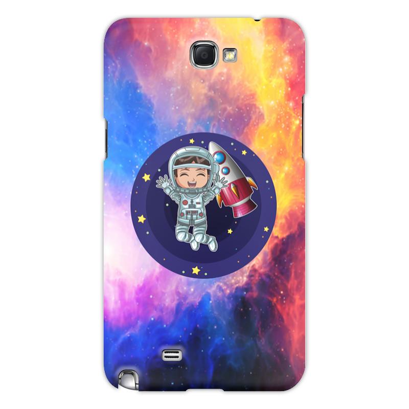 Printio Чехол для Samsung Galaxy Note 2 Космонавт чехол