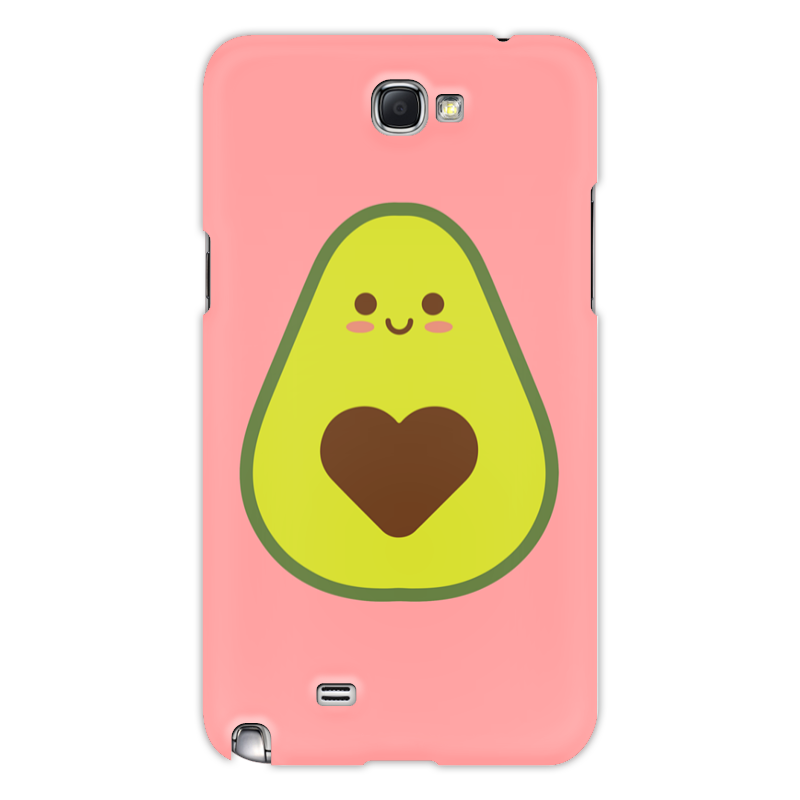 Printio Чехол для Samsung Galaxy Note 2 Авокадо авокадик чехол