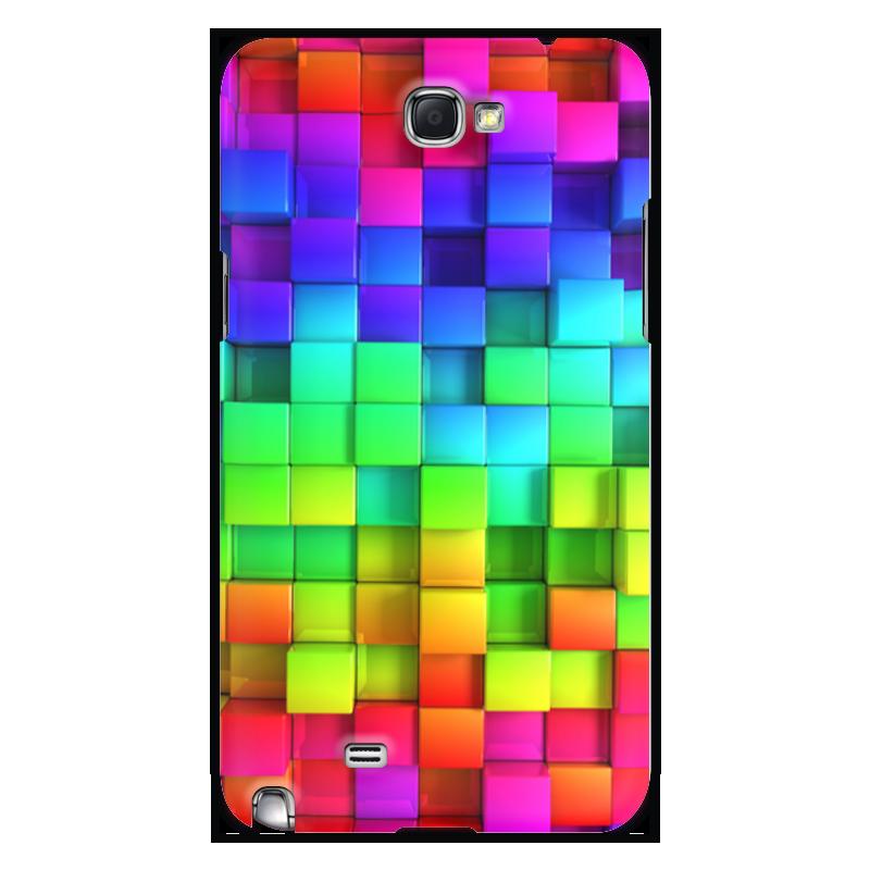 Printio Чехол для Samsung Galaxy Note 2 Яркие краски чехол