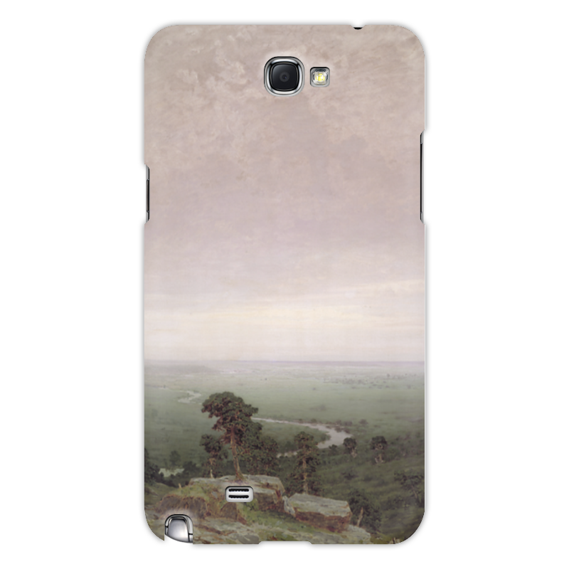 Фото - Printio Чехол для Samsung Galaxy Note 2 Север (картина архипа куинджи) printio тетрадь на скрепке берёзовая роща картина архипа куинджи