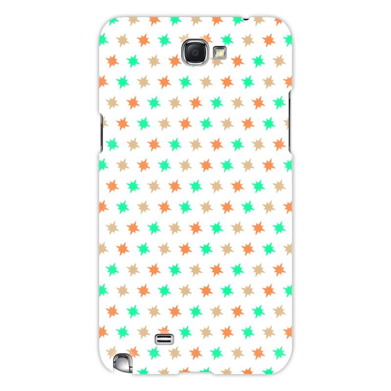 Printio Чехол для Samsung Galaxy Note 2 Звезды чехол