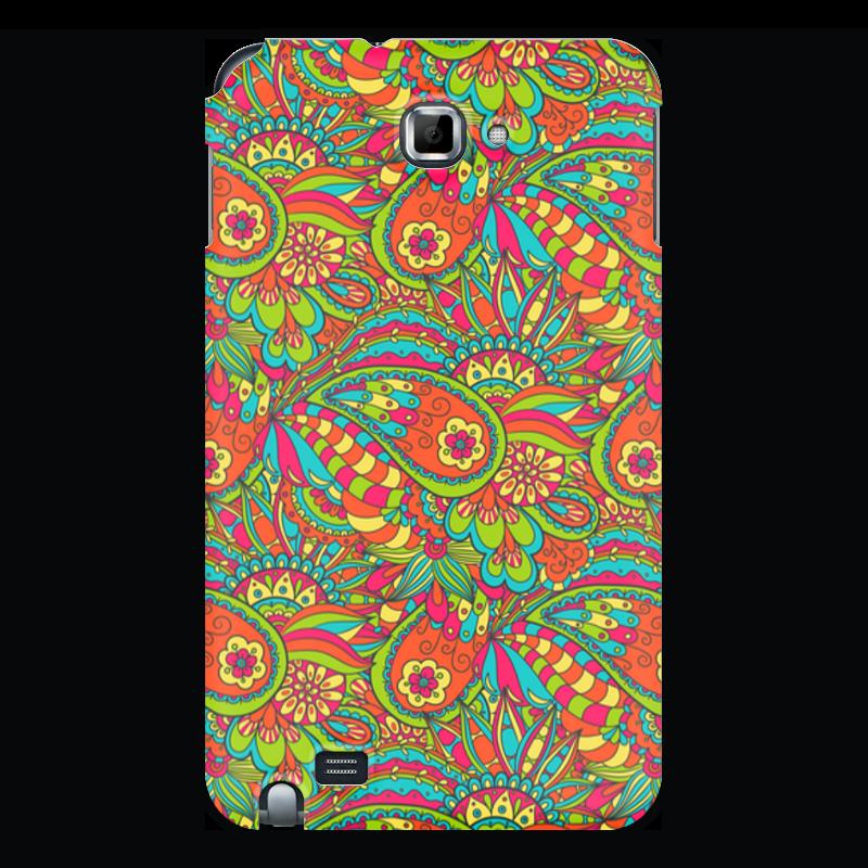 Printio Чехол для Samsung Galaxy Note Растительный дудл орнамент чехол