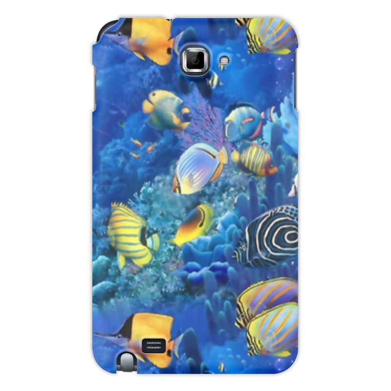 Printio Чехол для Samsung Galaxy Note Морской риф чехол