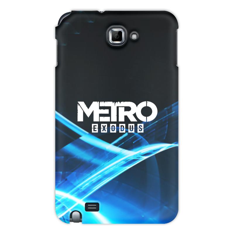 Printio Чехол для Samsung Galaxy Note Metro чехол