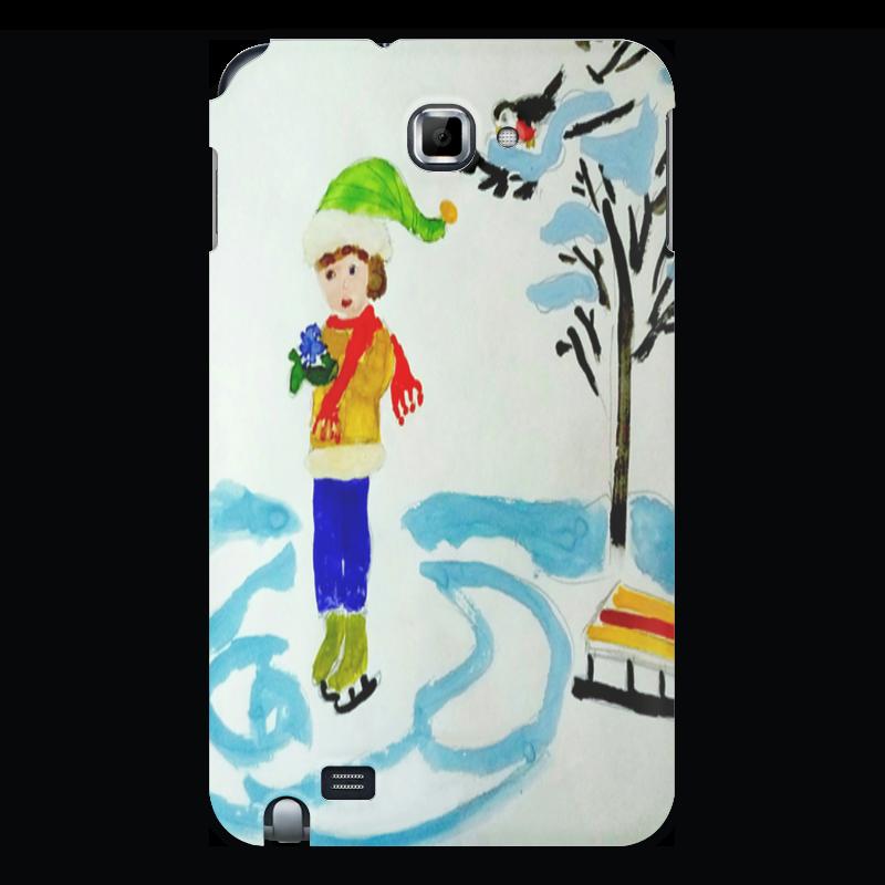 Printio Чехол для Samsung Galaxy Note Зимние забавы