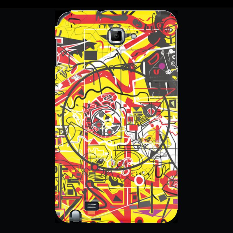 Printio Чехол для Samsung Galaxy Note Паутинка чехол
