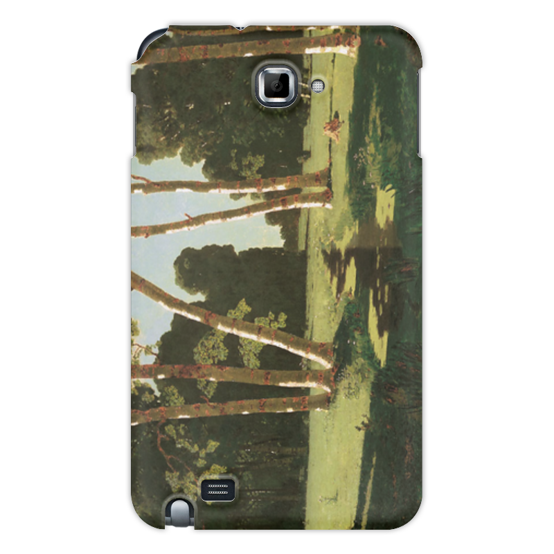 Фото - Printio Чехол для Samsung Galaxy Note Берёзовая роща (картина архипа куинджи) printio тетрадь на скрепке берёзовая роща картина архипа куинджи