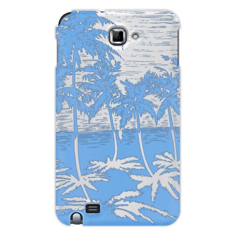 Printio Чехол для Samsung Galaxy Note Пальмы