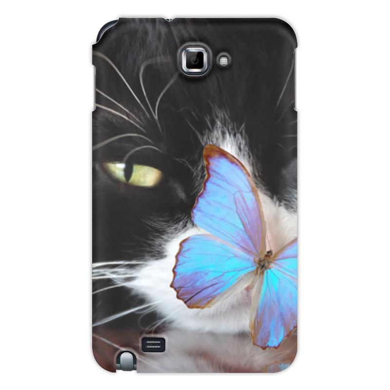 Printio Чехол для Samsung Galaxy Note Кошка чехол