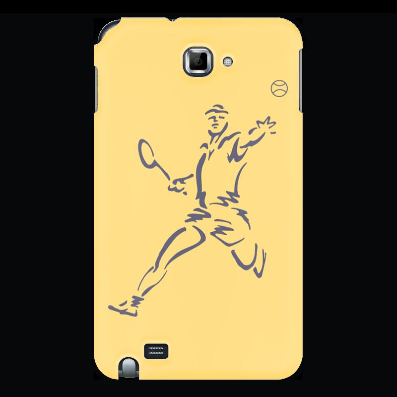 Printio Чехол для Samsung Galaxy Note Большой теннис