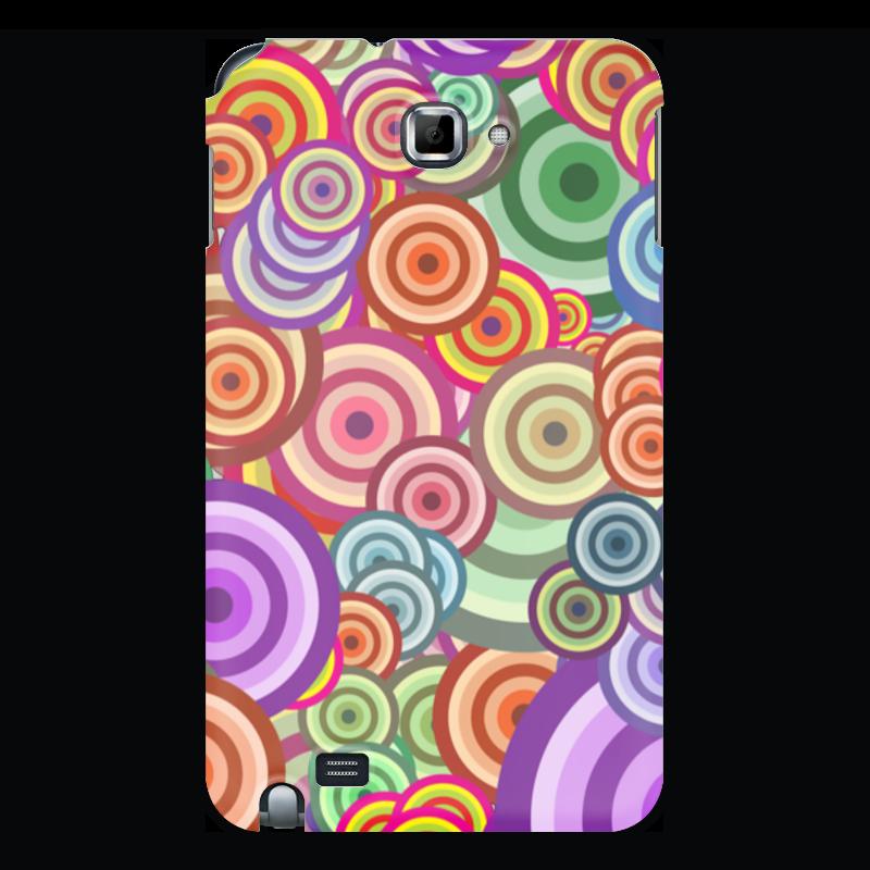 Printio Чехол для Samsung Galaxy Note Цветные круги