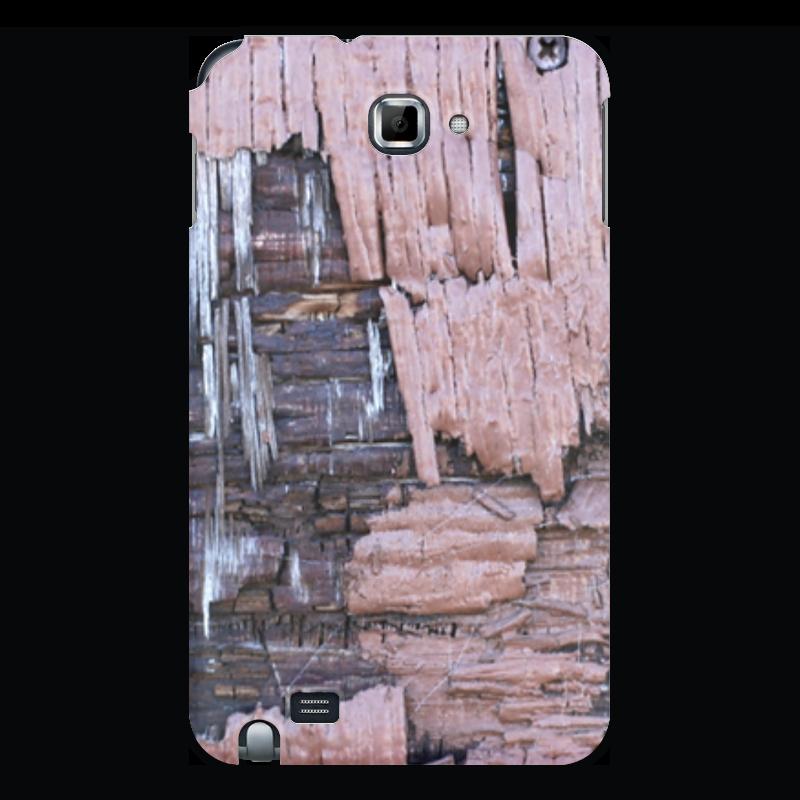 Printio Чехол для Samsung Galaxy Note Деревянный