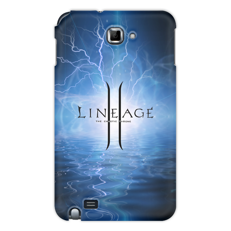 Printio Чехол для Samsung Galaxy Note Lineage чехол